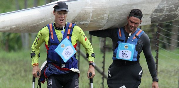 Terence Parkin tops a day of Dusi heroics
