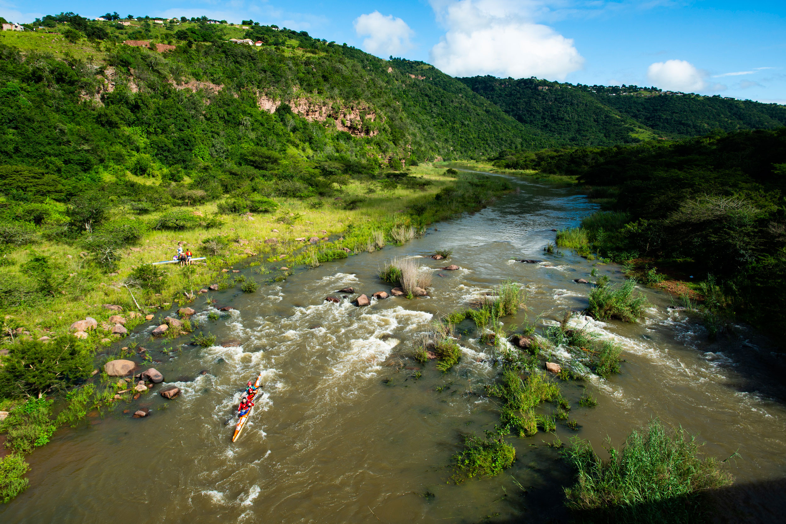 PADDLERS IN FOR A FULL RIVER TREAT ON SUNDAY